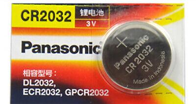 1*PANASONIC ECR2032 CR2032 3v Lithium Battery Coin Cell comprar usado  Enviando para Brazil