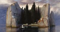Poster Die Toteninsel Di Arnold Böcklin - Isola Dei Morti, Hitler - isola - ebay.it