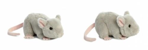 "Aurora 31731 Mouse Stuffed Animal Plush Toy, 8"", Grey"