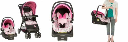 Disney Baby Minnie Mouse Amble Quad Travel System Garden Del