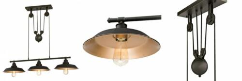 Westinghouse Lighting 6332500 Iron Hill Three-Light Indoor I