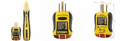 Sperry Instruments Stk001 Non-contact Voltage Tester Vd6504 Gfci Black