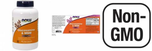Now Foods Vegetarian Glucosamine &  Msm , Veg-Capsules, 240-