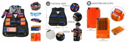 NEW Nerf Guns Tactical Vest Kit for N-Strike Elite Series