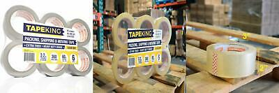 Tape King Clear Packing Super Thick 3.2mil - 60 6 Rolls / 3.2Mil