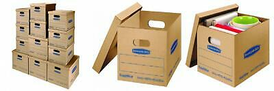 Bankers Box Smoothmove Classic Moving Kit Boxes Tape-free Assembly 12-pack