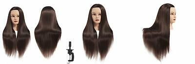Training Head 26-28 Mannequin Hair Styling Manikin Cosmetology Doll...