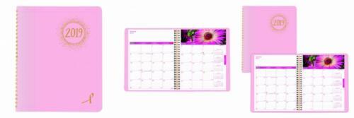 Brownline 2019 Monthly Planner, 14 Months , Black, 11 x...