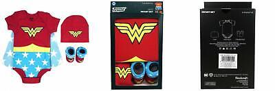 DC Comics Baby Girl's Superman, Wonder Woman, Flash, - Baby Flash Kostüm