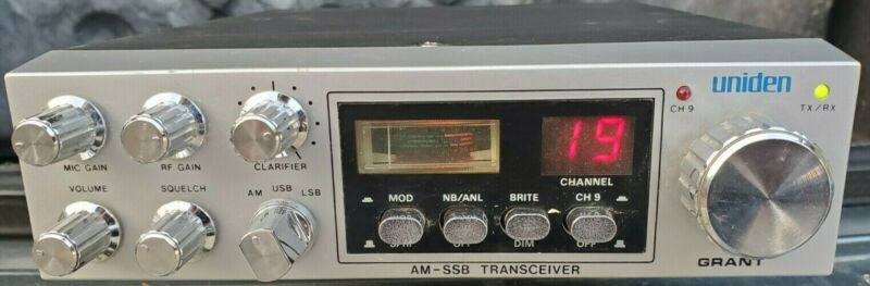 Uniden Grant 40 Channel - Power Tested