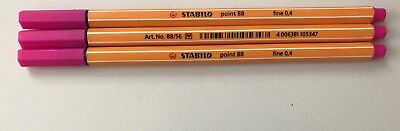 Stabilo Point 88 3 Fineliner 88/56 Pink Neu
