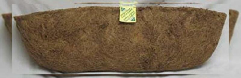 Panacea Products 88598 30-Inch Trough Coco Fiber Liner, Brown