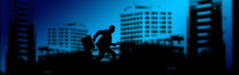 Besonders im Berufsleben tritt schnell zuviel Stress auf.