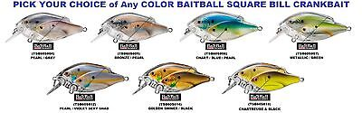 Koppers Live Target Baitball Shad Crankbait Square Bill Any Color Tsb60s Lure