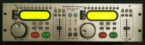 American Audio DCD-Pro300 MKII Remote Control Unit Tested Working