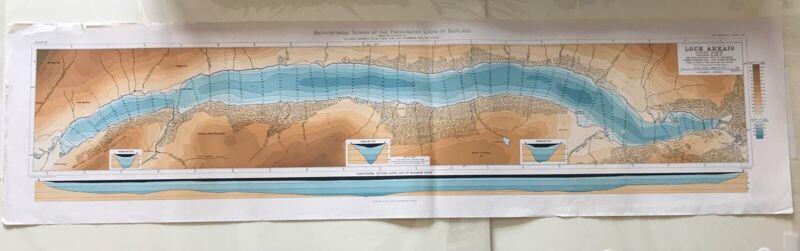 Loch Arkaig - Lochy Basin (100 X 25cm)
