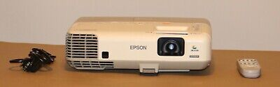 Epson Powerlite 96W/ H384A 3LCD Projector HDMI, Remote Control and Power Cord