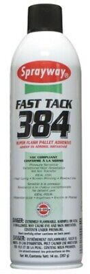 Sprayway Fast Tack 384 Super Flash Pallet Spray Adhesive