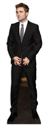 Robert Pattinson Actor Lifesize Cardboard Cutout Figure 177cm Tall-At your Party