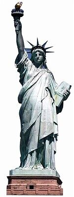 Statue of Liberty Cardboard Cutout Figure 191cm Tall - Great for Themed Parties](Movie Themes For Parties)