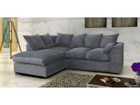 *EXPRESS DELIVERY*BRAND NEW LARA JUMBO CORNER OR 3+2 SOFA COUCH SETTEE