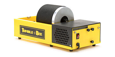 Tumble-Bee Rotary Rock Tumbler | Polish Rocks Glass Metals | Model TB-12, 1X2LB