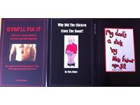 Adult Humour Books - Ideal Xmas present for those with a VERY broad sense of humour!