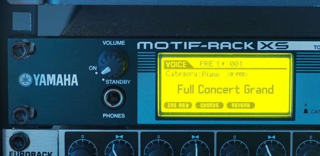 Yamaha Motif XS Rack Synthesizer | in Haymarket, Edinburgh | Gumtree