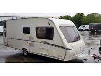 STUNNING ABBEY VOGUE 6 BERTH MOTOR MOVERS AWNING * VIDEO *