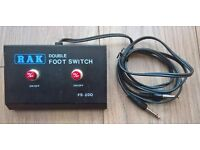 RAK Guitar Amp Double Footswitch