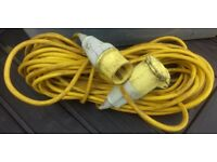 110V Extension Cable Lead 16amp 16 Metre