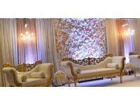 Tempting Occasions Wedding Stage Decorations Flower Centrepiece Table Decor Mehndi Blossom Tree Hire