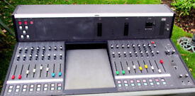 REVOX MB16 / STUDER 916 RETRO LARGE FORMAT RADIO BROADCAST MIXER BOARD DESK. COMMUNITY / RSL. LOCAL