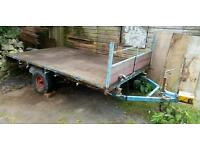 9'x5' Flat Bed Plate Trailer