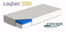 Gelflex Laytec 3000 mattress kingsize 5FT Brand New better then Memory foam RRP £330