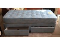 Single Bed with Savoy Mattress