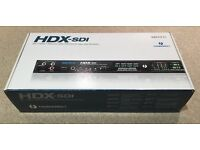 VIDEO CARD MOTU HDX-SDI Thunderbolt Analog video interface Mac/Windows - NEW! - MAKE YOUR OFFER