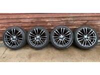 Set of 4 x Genuine OEM BMW 3/4 Series 403M Staggered alloy wheels