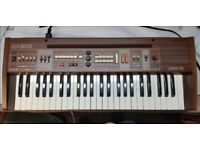 Vintage Casio keyboard Casiotone 405 with original extras + stand