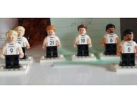 6 Lego German footballers