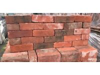 X540 68M RECLAMATION KENSINGTON SOFT RED BRICKS - LARGE STOCK
