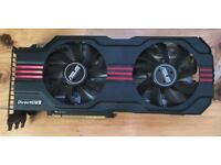 Nvidia ASUS GTX 570 Direct Cu II (Only work intermittently)