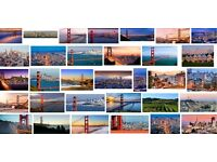 1x Gatwick - Oakland,San Francisco RETURN Flight Plane Ticket APRIL 20th Direct