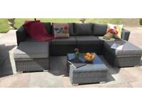 Rattan garden furniture ( cushions ) only