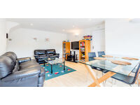Fantastic 3 bedroom split level apartment next to the tube