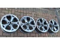 "GENUINE Ford Facelift ST/S Max Focus/Mondeo 18"" Inch Alloys/Rims x4. *L00K N0W*"