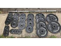 220kg BodyPower Olympic Weights Set
