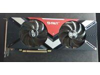PALIT Nvidia GeForce RTX 2080 GAMING PRO 8GB Graphics Card (GPU)