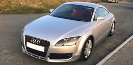 Audi TT Coupe! Only 76,000 Miles, Red Leather Interior! Amazing Car