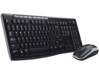 Logitecj Wireless Keyboard + Mouse
